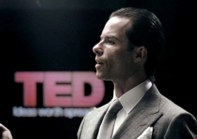 Guy Pearce as Peter Weyland in Prometheus