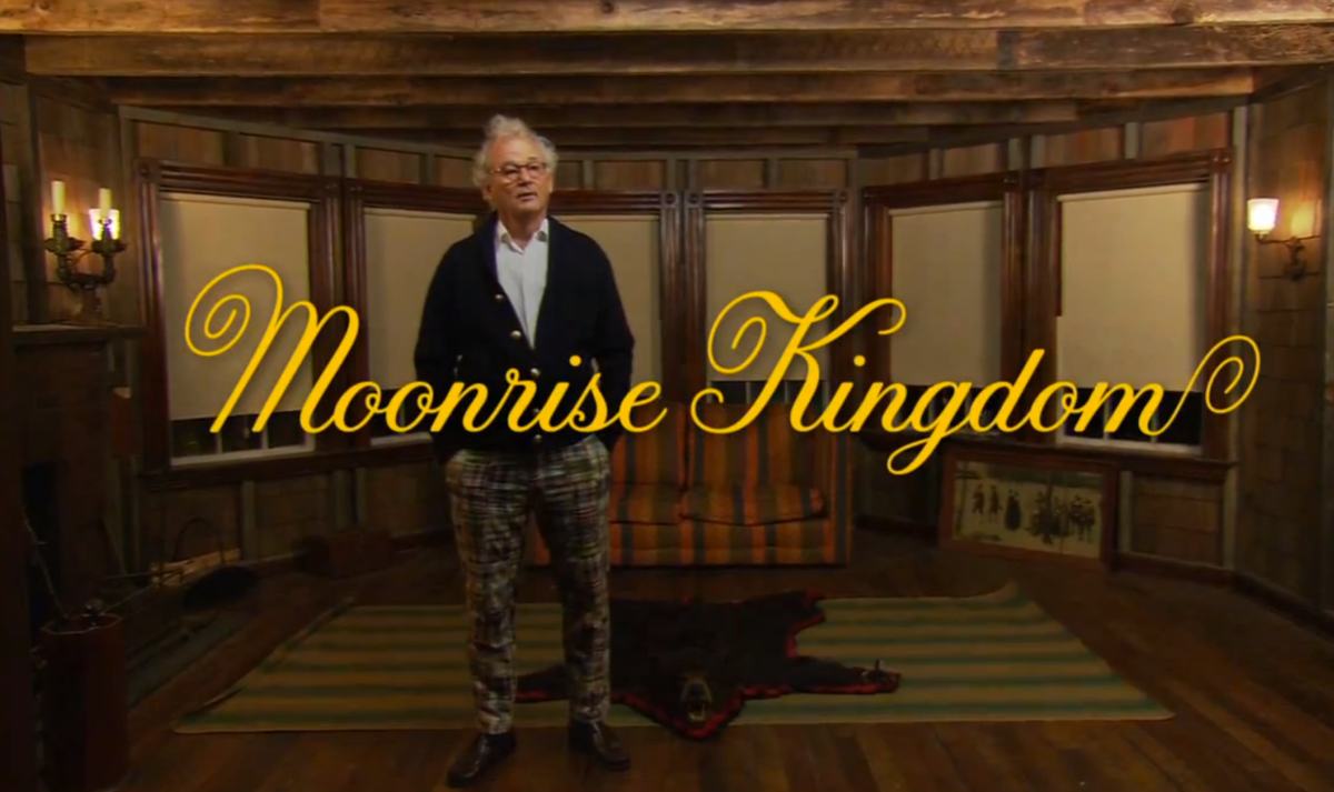 MOONRISE KINGDOM - A WHIMSICALLY DRUNK BILL MURRAY GIVES US THE LOWDOWN